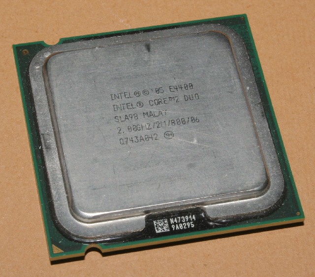 DOWNLOAD DRIVER: INTEL CORE 2 DUO E4400